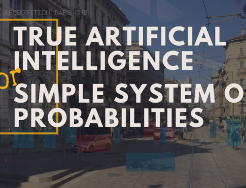 True AI or a simple system of probabilities
