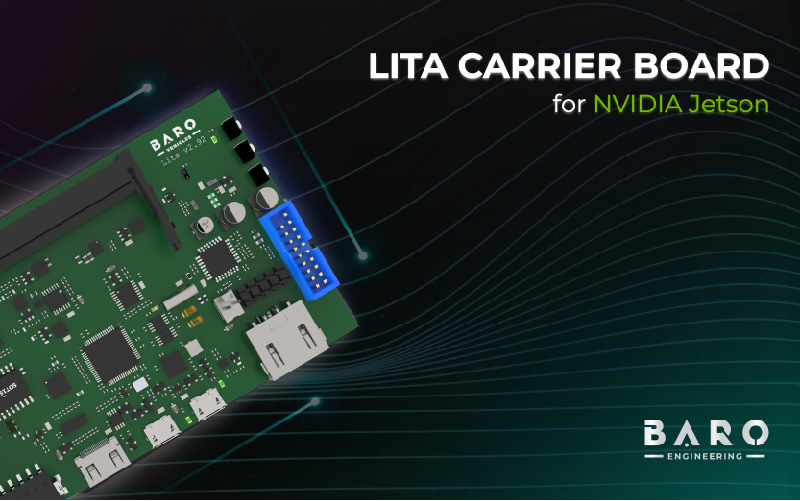 BARO launches LITA Carrier Board for NVIDIA Jetson