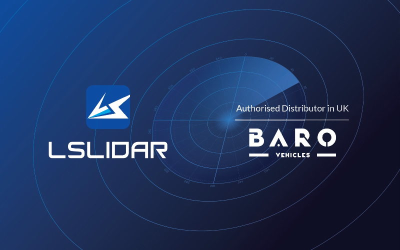 Baro Vehicles expands sensor offering for Industry 4.0 Development and Autonomous Vehicles and announce an agreement with LeiShen